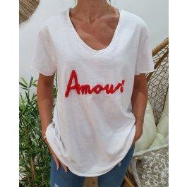 T-Shirt oversize Amour-Rouge