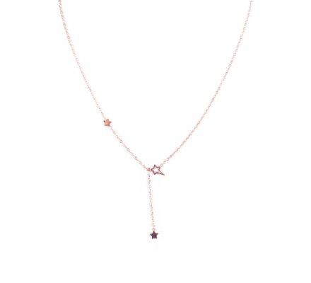 Collier acier rose gold MYLE MYLA constellation