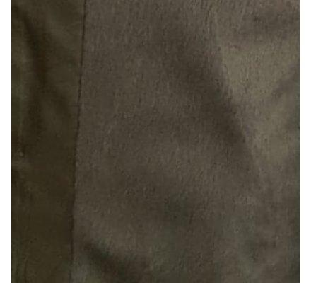 Doudoune kaki coupe confort doublure fausse fourrure et capuche amovible