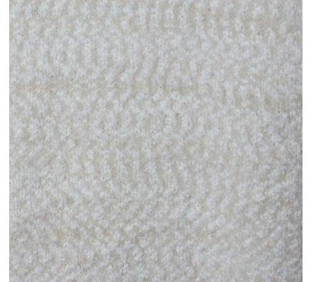 Gilet chiné maille douce beige et blanc