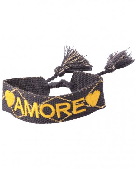 Bracelet tissu Amore