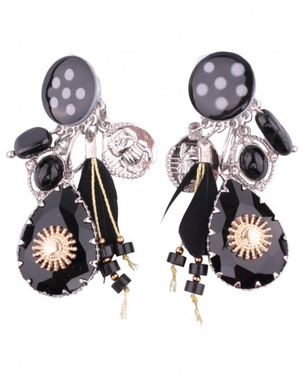 Boucles d'oreilles LOL à clips Transania