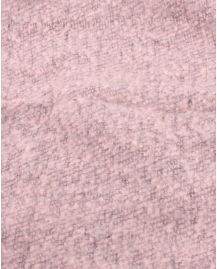 Grosse écharpe bicolore rose et gris chiné
