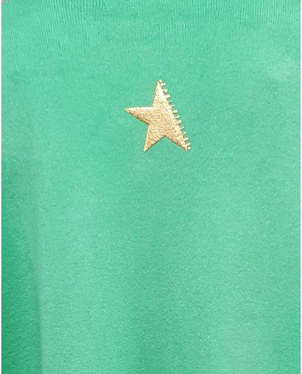 Gilet long dos étoile