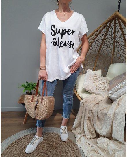 T-Shirt oversize Super Râleuse