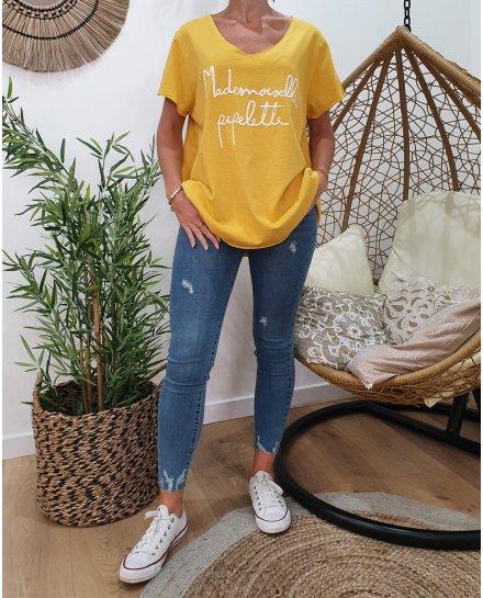 T-Shirt oversize Mademoiselle pipelette