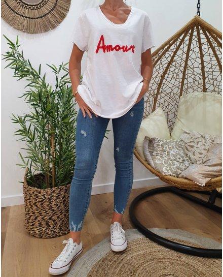 T-Shirt oversize Amour