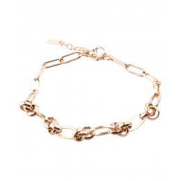 Bracelet acier doré gros maillons