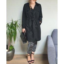 Manteau Trench noir femme