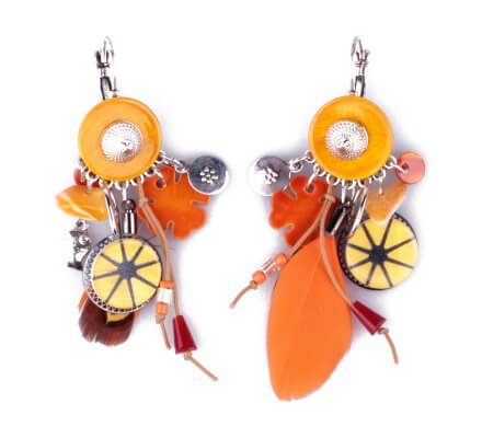 Lol Coniplumi Moutarde Et Oranges Boucles D'oreilles 8nN0wvm