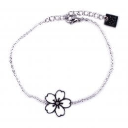 Bracelet MILE MILA acier fleur des iles