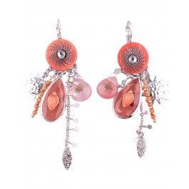 Boucles d'oreilles LOL oranges Goutisoli