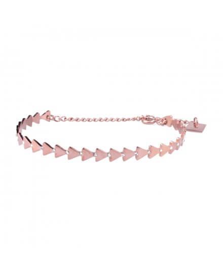 Bracelet MILE MILA acier cuivré flèches ethniques