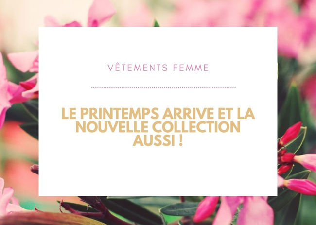 Collection printemps Coindesfilles