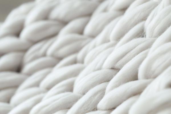 Maille blanche vêtement